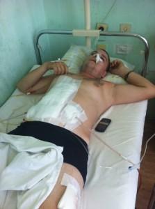Янко Георгиев е наясно, че една инфекция може да го прати в Отвъдното