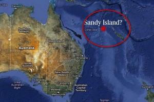 Къде може да е изчезнал остров Сънди, фигуриращ в множество карти, правени от Google?