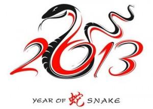 2013 - Годината Змията
