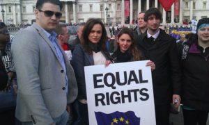 Алианс срещу дискриминацията на източноевропейци (българи и румънци) и други преселници.