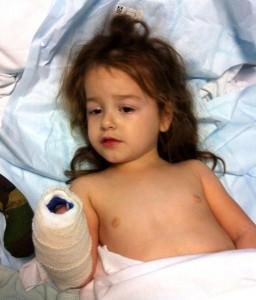 Последна молитва върна към живота дете с менингит