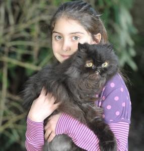 8-годишната съседка на Кафри  (сн. dailymail)