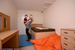 новата стая на Зак