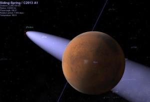 Космическа катастрофа заплашва Марс