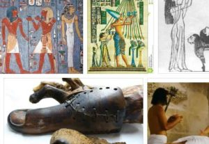 присаждане на глава древен египет