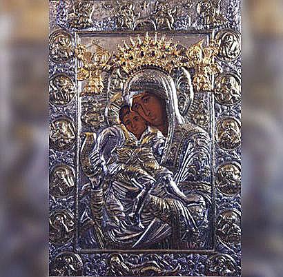 Чудотворното копие на иконата Света Богородица - Достойно есть