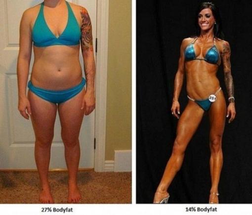 СТРАХОТНА!! Кой не си мечтае за такова тяло?? Това е истинско доказателство, че с труд и воля може да се постигнат чудеса!!