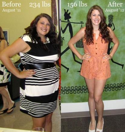 Вижте каква промяна! Жертвала е една година от живота си, през здраво се е борила със затлъстяването!