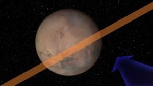 Астероиди се разбиват в Марс