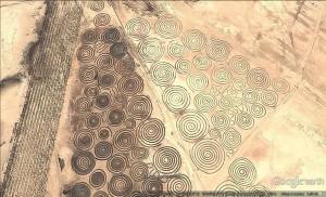 Тайнствените спирали са открити на сателитни снимки