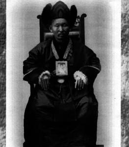 Хамбо лама Итигелов в началото на миналия век