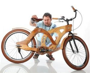 Това е дървеният велосипед
