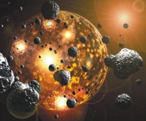 Златото се ражда в титаничния сблъсък на звездите