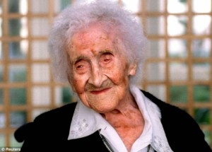 Жана Калмет, живяла 122 години и 164 дни
