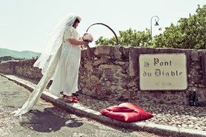 Младоженката признава, че мостът е всичко, което една жена може да поиска от съпруга си