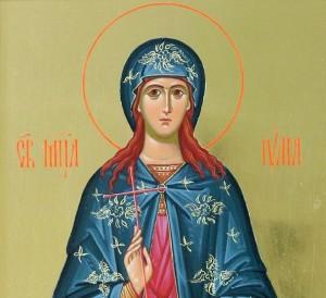 Св. мъченица Юлия девица