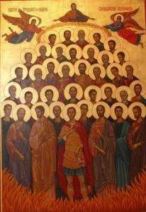 Св. 37 Пловдивски мъченици загинали за Христа