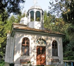 Църквата на Светата обител, в която се намира и чудотворната икона на Божията майка