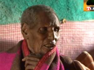 Дхакабо Еба е може би най-възрастният човек в света