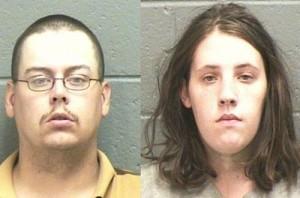 Мелиса Никол Джоунс и Матю Уилсън Фреийти-Суим бяха обвинени в това, че са насили 10-годишния син на своята хазяйка