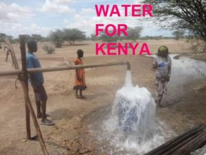 WATER FOR KENYA