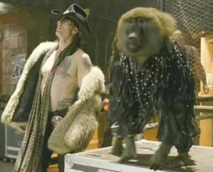 Бабуинът партнира на Том Круз