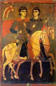 Св. мъченици Сергий и Вакх