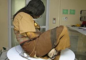 Това е Спящата красавица от Перу и е само на 500 години