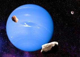 """Космическият телескоп """"Хъбъл"""" успя да намери изгубения спътник на Нептун – Наяда"""