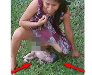 28-годишна роди сама на тревата пред болницата