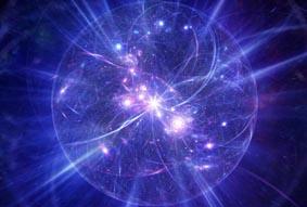 Предполага се, че нашата триизмерна Вселена плува като мембрана в едно четириизмерно пространство