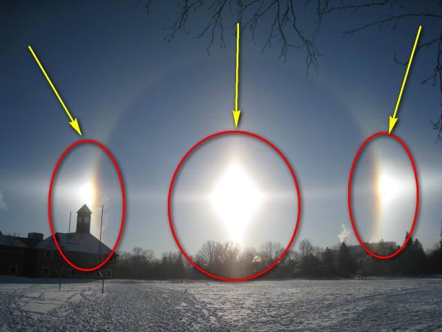 Космическо чудо! В небето изгряха три слънца! (ВИДЕО)