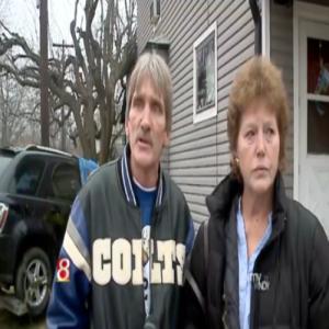 Къщата на семейството е удряна 11 пъти за 30 години