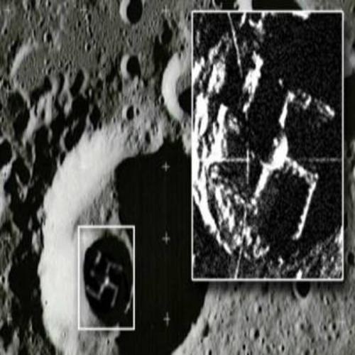На Луната е заснета свастика?