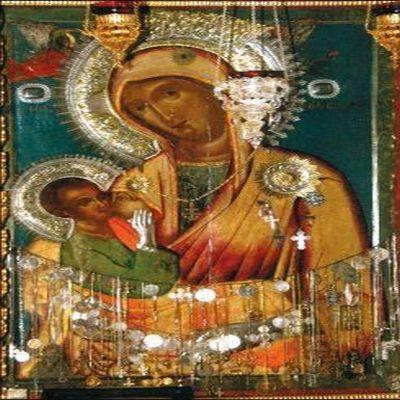 Тази чудотворна икона на Божията майка унищожава рак и лекува сърцето (ВИДЕО)