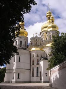 Катедралата Успение на Пресвета Богородица в Киевско-Печорската лавра.
