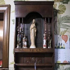 Дева Мария статуя