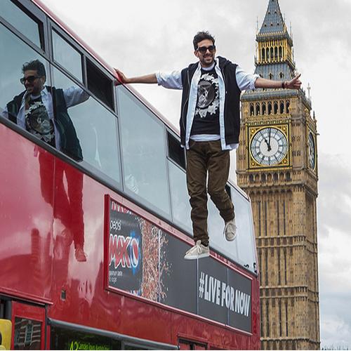 Лондон е зашеметен: Динамо левитира и се снима (ВИДЕО)