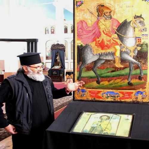 Древна икона на Свети Мина твори чудеса в скоро реставриран православен БГ храм