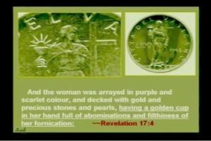 Снимка на женското божество, на което са се покланяли масоните – Фидес