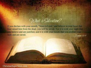 Чрез Библията Бог ни е показал пътя на спасението чрез вяра.