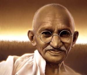 Махатма Ганди е един от най-големите духовни учители на всички времена