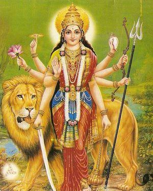 Митичната богиня Кали