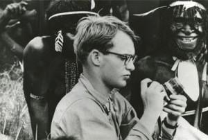 Майкъл Рокфелер при асматите в Нова Гвинея