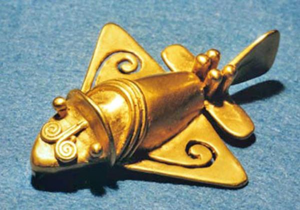 Древните самолети на инките