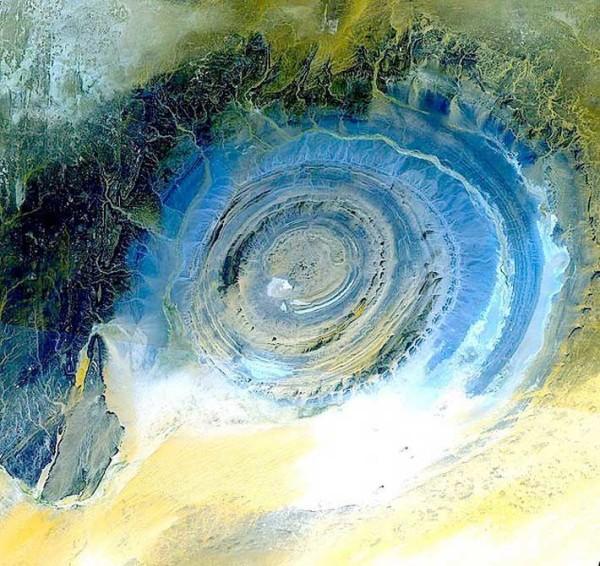 Окото на Сахара или структурата Ришат е познато от науката още от 60-те години на 20 век