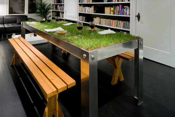 Зелени идеи за дома: искате ли маса за пикник у дома