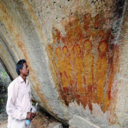 В индийски пещери откриха доказателства за мистериозните извънземни?