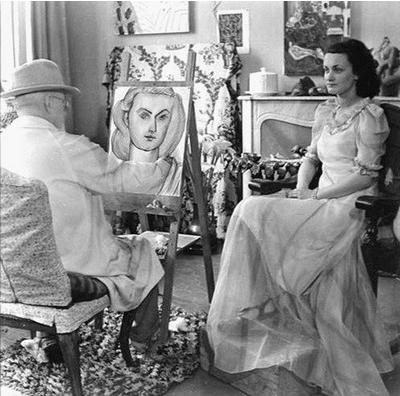 Лидия Делекторская, последната муза на Анри Матис
