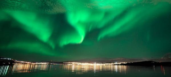 Най-голяма шанс да видите магическото полярно сияние имате, ако отидете в Северна Норвегия